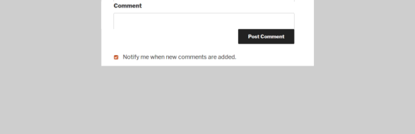 Lightweight Subscribe To Comments WordPress plugin